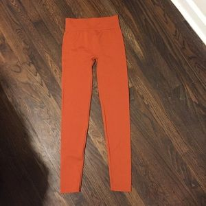 New Mix Orange Leggings